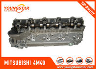 Cina High Performance Complete Cylinder Head Mitsubishi 4M40 With Bigger Exhaust Ports pabrik